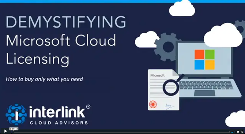 Demystifying Microsoft Cloud Licensing video play