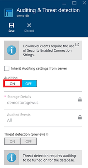 Microsoft Azure SQL Database Security