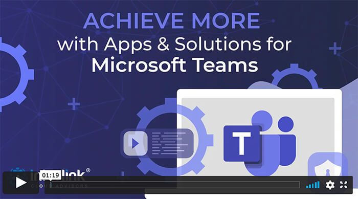 Microsoft Teams Apps solutions view video