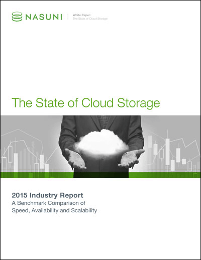 Nasuni 2015 State of Cloud Storage Report Thumb no DS Web