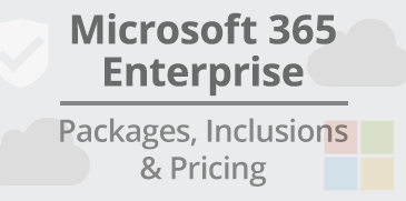 Microsoft O365 Enterprise Pricing